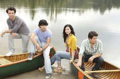 "CAMP ROCK 2 THE FINAL JAM - Disney Channel's ""Camp Rock 2 The Final Jam"" stars Kevin Jonas as Jason, Joe Jonas as Shane, Demi Lovato as Mitchie and Nick Jonas as Nate. (DISNEY CHANNEL/BOB D'AMICO)     The New Michael Antonio Women's Gota Wedge Sandal"