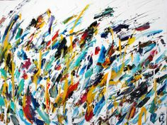Abstract for SALE - Bleu vague 30x40 #abstract #art #painting Julien Aubé Abstract Art, Creations, Artwork, Painting, Toile, Artist, Work Of Art, Auguste Rodin Artwork, Painting Art