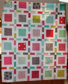 Design.   Sweets quilt top (pattern from Simply Retro book) | STAMP * STITCH * CREATE