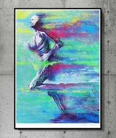 Speed - llustration art giclée print signed by the artist. 50 x 70 cm poster…