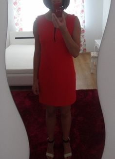 Kup mój przedmiot na #vintedpl http://www.vinted.pl/damska-odziez/krotkie-sukienki/10588534-czerwona-dekolt-na-plecach-oryginalna-m