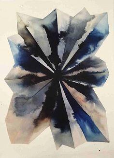 Lourdes Sanchez (Ink on silk) 2015, ink on silk