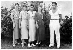 1930s Women's Golfing Outfits and Sportswear. Tempe State Teachers College Women's Golf c. 1931
