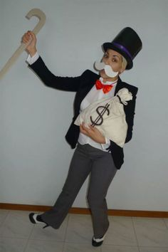 "Monopoly Man: Consider this costume your ""Get Out of Jail Free"" card."