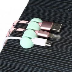 BalleenShiny Silicone Cable Organizer Device Management For Office Home Storage Desktop USB Data Wire Clips Clamp Holder - TakoFashion - Women's Clothing & Fashion online shop Headphone Holder, Tie Organization, Smartphone, Home Office Storage, Usb, Cable Organizer, Desktop, Cable Wire, Clamp