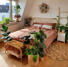 Boho Bedroom Decor, Room Ideas Bedroom, Home Bedroom, Closet Bedroom, Bedrooms, Dream Rooms, Dream Bedroom, Aesthetic Room Decor, New Room