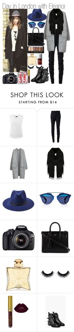 """""""Day in London with Eleanor"""" by praradise ❤ liked on Polyvore featuring Isabel Marant, Vivienne Westwood Anglomania, Forever 21, Christian Dior, Canon, Yves Saint Laurent, Hermès and MANGO"""