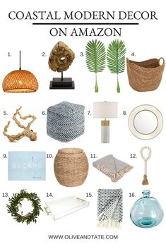 coastal living rooms My decor style changes from house to house and our current abode is definitely rocking a coastal modern vibe. Coastal Modern meaning it's not too beachy/themey Modern Coastal, Coastal Style, Modern Decor, Coastal Farmhouse, Home Decor Accessories, Decorative Accessories, Home Design, Interior Design, Home Decor Bedroom