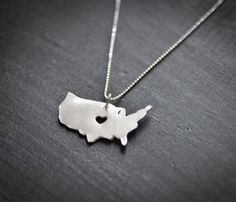 United States Necklace... if only there was one for Turkey... :))