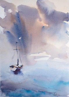 Fernando Pena - Acuarelas - #watercolor jd