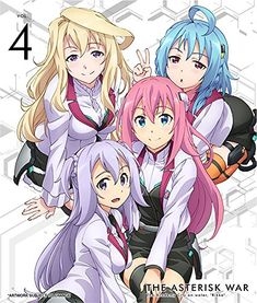 Asterisk War Volume 4 Blu-ray   #FreedomOfArt  Join us, SUBMIT your Arts and start your Arts Store   https://playthemove.com/SignUp