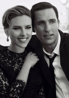 Campaña Dolce & Gabbana con Scarlett Johansson y Matthew McConaughey