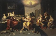 Francken, Hieronymus the Younger - Parable of the Wise and Foolish Virgins - c. 1616 - Parable of the Ten Virgins - Wikipedia, the free encyclopedia