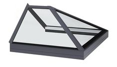 Glass to glass roof lantern rooflight and skylights for flat roof applications. Roof Lantern, Roof Light, Glass Roof, Skylight, Lanterns, Wall, Home Decor, Homemade Home Decor, Glass Ceiling
