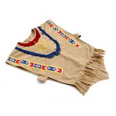 Disfraz vestido indio talla3