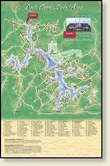 Map of Deep Creek Lake area http://realty.railey.com/maps.aspx