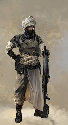 Change the armour and the weapon and this look could easily work for the New Lands?