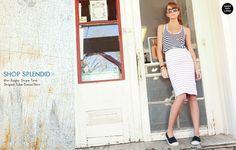 stripes with Bensimons..