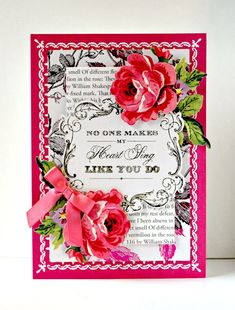 Crafty Creations with Shemaine: Anna Griffin Minc Valentines