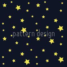 Stars In The Night Sky Vector Pattern Vector Pattern, Pattern Design, Night Skies, Surface Design, Sky, Stars, Decoration, Modern, Patterns