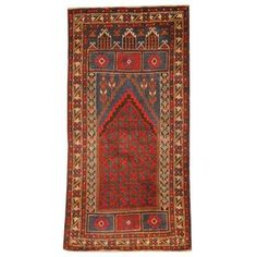 Shop for Herat Oriental Afghan Hand-knotted 1960s Semi-antique Tribal Balouchi Wool Rug (2'6 x 5'). Get free delivery at Overstock.com - Your Online Area Rugs Shop! Get 5% in rewards with Club O!