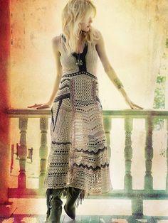 robe originale au crochet