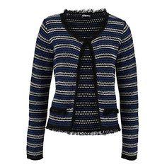 Damen Strickjacke Cardigan dunkelblau schwarz weiss Gr.36-38 Chillytime http://www.amazon.de/dp/B009Z4B2HM/ref=cm_sw_r_pi_dp_qU6Jwb02CXGDJ