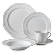 Mikasa® Antique White Dinnerware 5-Piece Place Setting