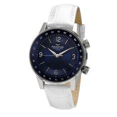 Aquaswiss Unisex Classic I White Strap Watch