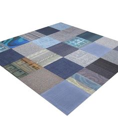 Save on 1-Shades Of Blue modular carpet tiles on sale iCarpetiles.com