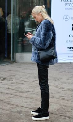 Dislike the shoes in a major way but love love the coat