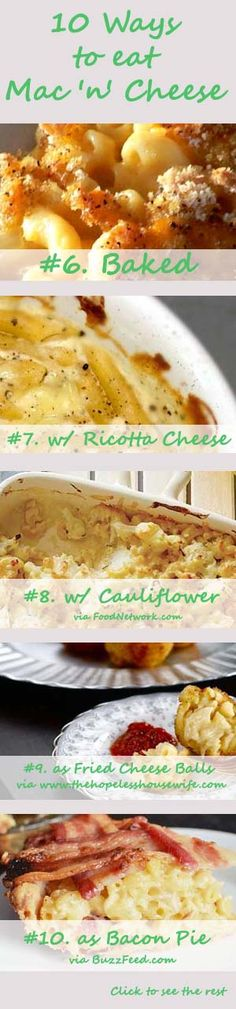 10 Ways to Eat Mac 'n' Cheese -- Ideas 6 - 10
