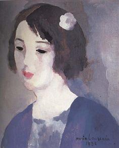 Portrait of Mrs Aitato, Marie Laurencin