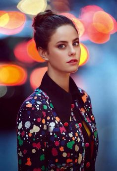 Rising star: Kaya Scodelario, who has been cast in the latest Pirates Of The Caribbean film, poses for the March issue of InStyle magazine Kaya Scodelario, Pretty People, Beautiful People, Beautiful Women, Foto Portrait, Instyle Magazine, Just Dream, Uk Fashion, Looks Style