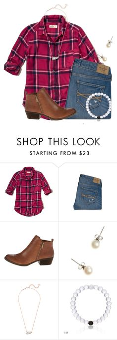 """Just ordered these boots from Lucky Brand"" by flroasburn on Polyvore featuring Hollister Co., Abercrombie & Fitch, Lucky Brand, J.Crew and Kendra Scott"