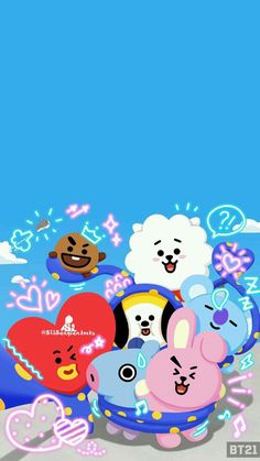 100+ Wallpaper De Bt21