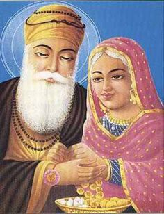 """Mata Nanaki (1464-1518)  The First Sikh     Born in Chahal village (now Lahore, Pakistan), Mata Nanaki loved and nurtured her younger brother Nanak. In 1469, Nanak experienced a divine vision as a young man and became the first Guru or """"teacher"""" of what is now the Sikh faith. Mata Nanaki was the first to follow him and should be celebrated as the first Sikh, which literally means """"disciple"""" or """"seeker of truth."""""""