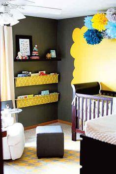 baby room organizing fabric slings
