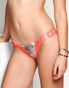 CAGE THONG BY LOVE HAUS £12.99  SIZE