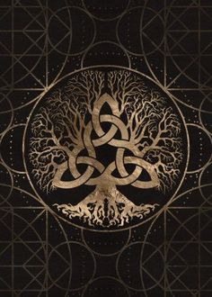 Norse Tree of life Yggdrasil from Displate - prints on metal life. - Norse Tree of life Yggdrasil from Displate – prints on metal life tattoos Tree of - Yggdrasil Tattoo, Norse Tattoo, Viking Tattoos, Celtic Tree Tattoos, Tree Of Life Tattoos, Norse Mythology Tattoo, Celtic Tattoo Symbols, Armor Tattoo, Wiccan Tattoos
