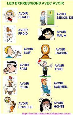 expressions avec AVOIR https://www.google.es/blank.html