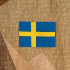 TAC-UP GEAR - 0073 Sweden Flag Arm Patch