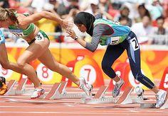 Waseelah Fadhl Saad - Sprinter (100 m)