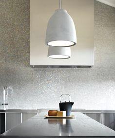 Strata Art Glass Pendant Light Shades Of Light. DIY Kitchen Lighting Upgrade: LED Under Cabinet Lights . Home and Family Glass Shade Pendant Light, Pendant Lighting, Lamp, Concrete Pendant Light, Concrete Pendant, Modern Pendant Light, Pendant Lamp Shade, Cement Bench, Ceiling Lights