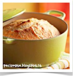 Il pane senza impasto   Le pecionate