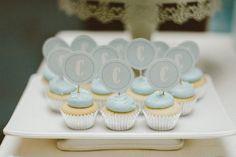 blue-carousel-baptism-baby-shower-dessert-station-pretty-cupcakes