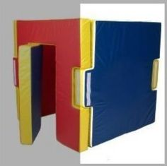 Foamnasium Foam Home Wall, Red/Blue/Yellow  - Click image twice for more info  - See a larger selection  of  baby play structures   at   http://zbabybaby.com/category/baby-categories/baby-activity-gear/baby-play-structures/  - gift ideas, baby , baby shower gift ideas, kids, toddler  . « zBabyBaby.com