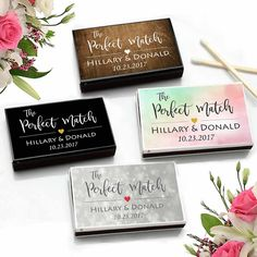 e60c2ea66fec Cheap Personalized Matches Wedding Favors (Set of 25) - FREE Assembly