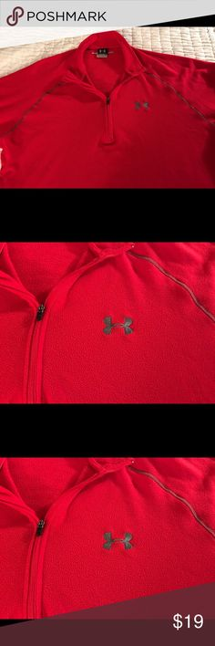 Women's Under Armour jacket fleece material. Excellent condition, no rips, tears or stains. Under Armour Tops Sweatshirts & Hoodies