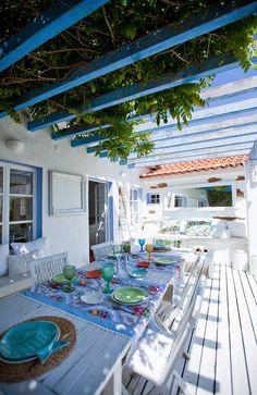 ... a nossa casa na Costa Alentejana :)